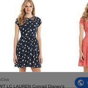 LC Lauren Conrad Disney navy dress